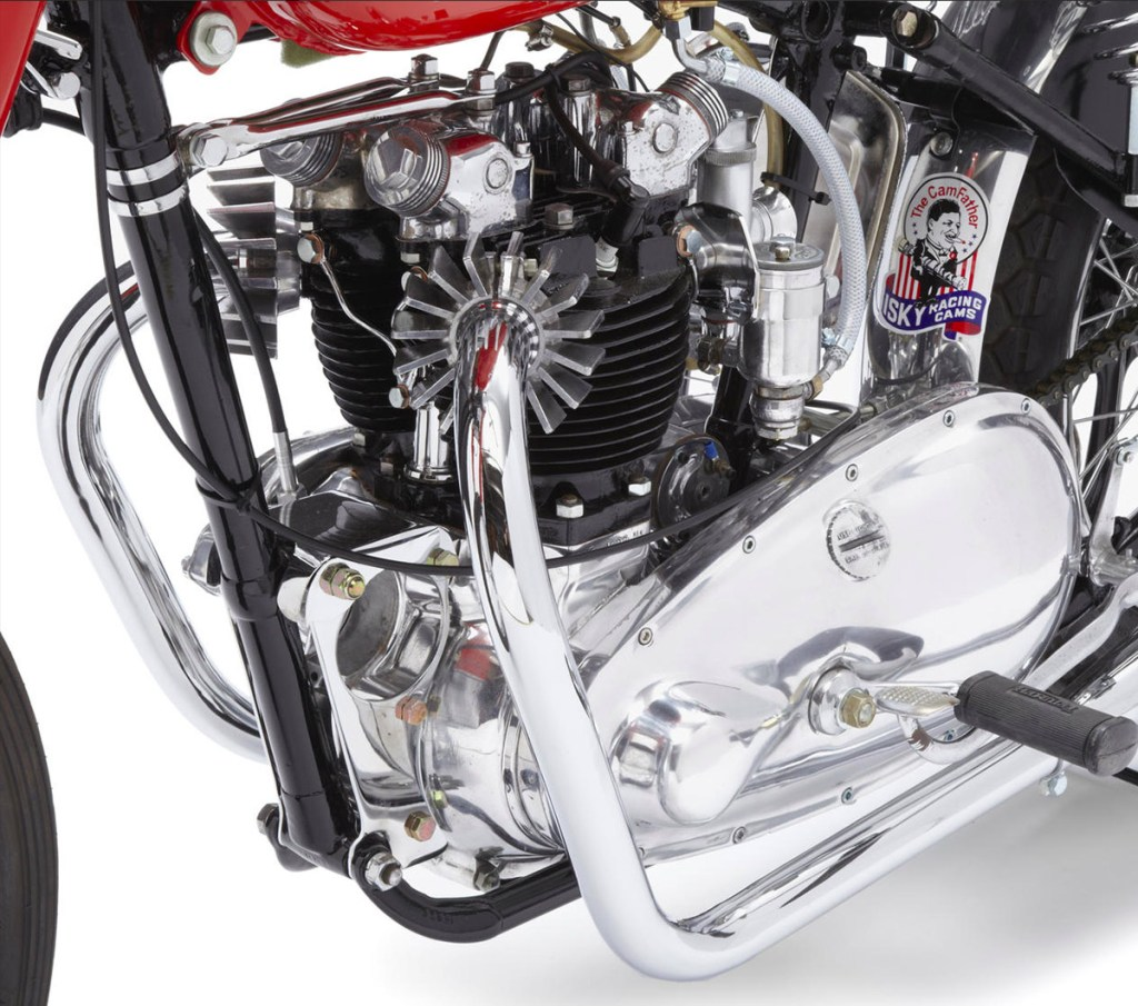 1951 Triumph Thunderbird 650 Baby Mine Dragbike