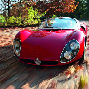1967 Alfa Romeo T33 / 2 Stradale :: via MotorKlassik