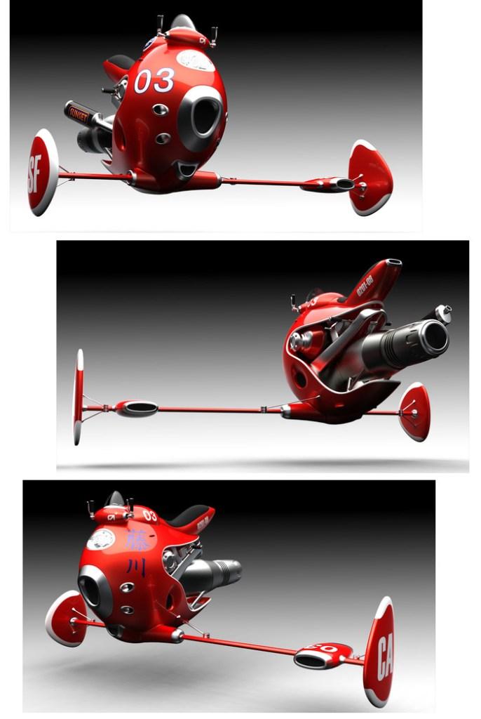 Jetbike :: Norio Fujikawa