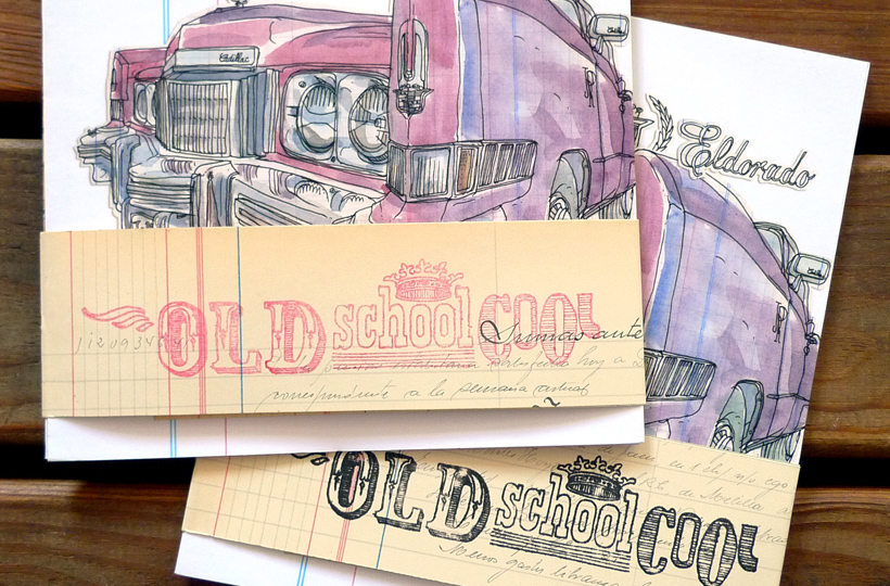 Old School Cool :: Les Illustrations Delapin