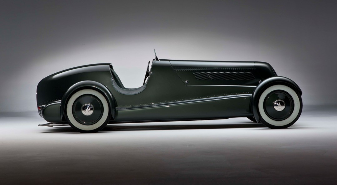 Edsel Ford's Restored 1934 Model 40 Special Speedster