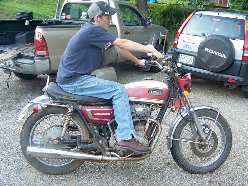 1972 Tevan Morgan Yamaha XS2