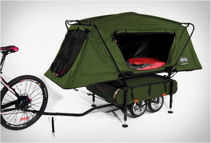 Bicycle Camper Trailer by Kamp-Rite Camper :: Bless This Stuff