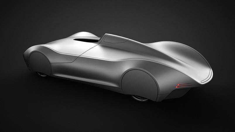 The Stromlinie 75 Concept Car by Lukas Rittwage :: via KNSTRCT