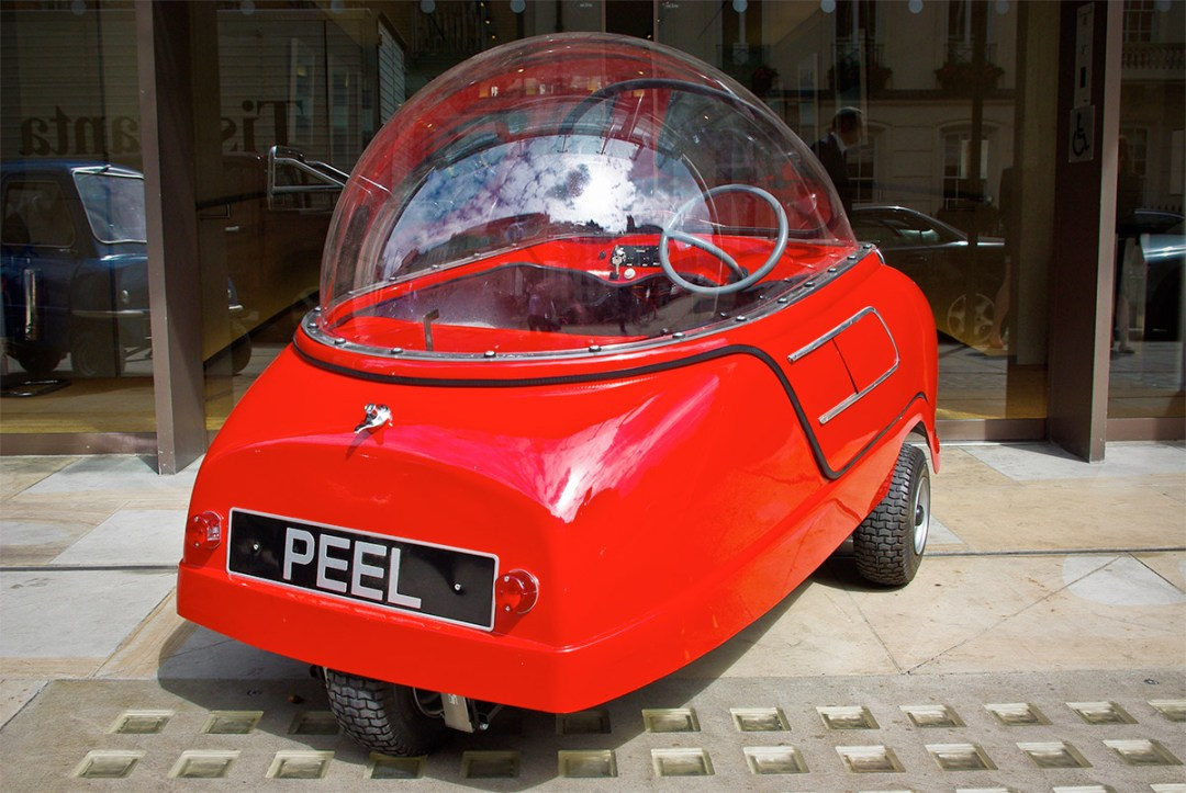Peel The World's Smallest Car