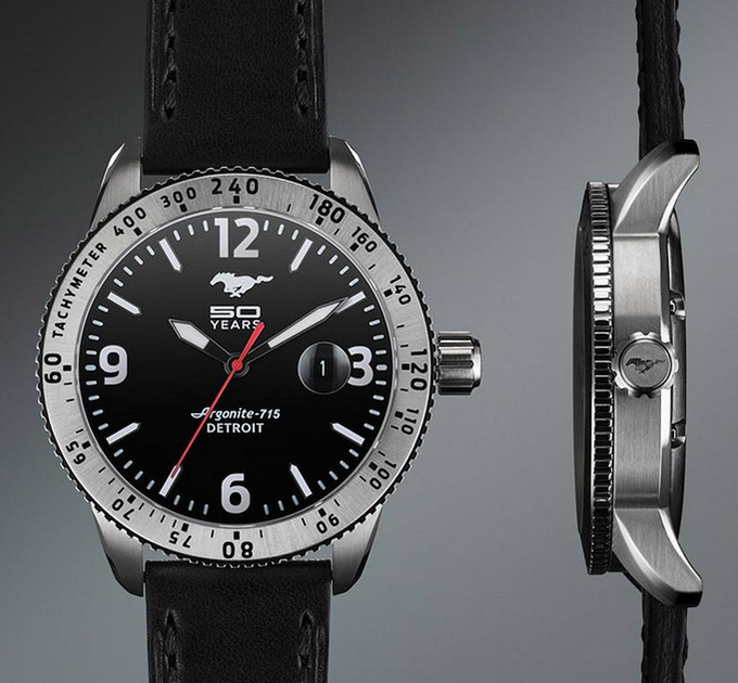 FORD X SHINOLA MUSTANG ANNIVERSARY WATCH