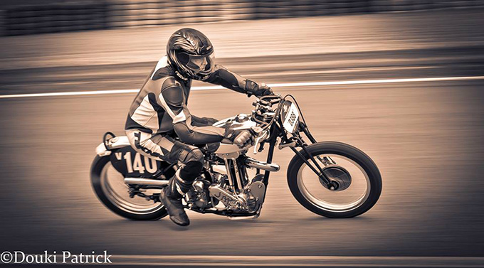 Classic France Racer by Patrick Douki :: via Inazuma Cafe