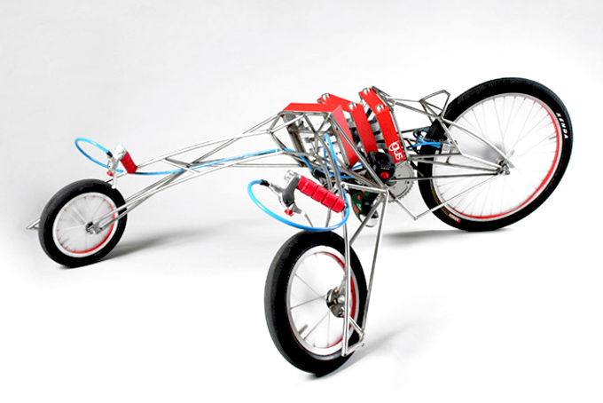 "Screwdriver-Powered Vehicle ""EX"" :: by Nils Ferber"
