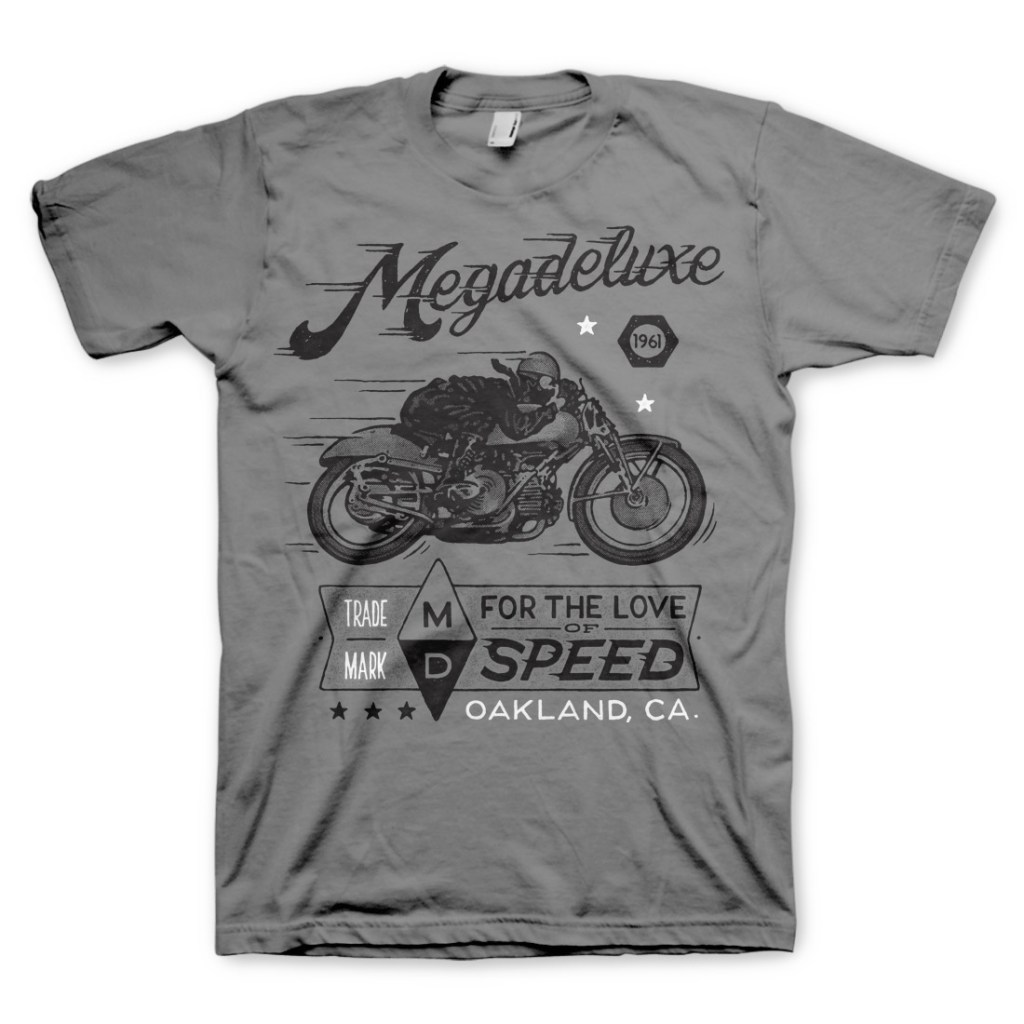 For The Love of Speed :: Megadeluxe T-Shirt