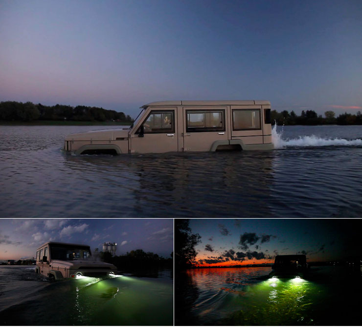 Overlandia: The 4WD SUV That Drives on Water