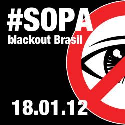 #SOPA blackout BRASIL