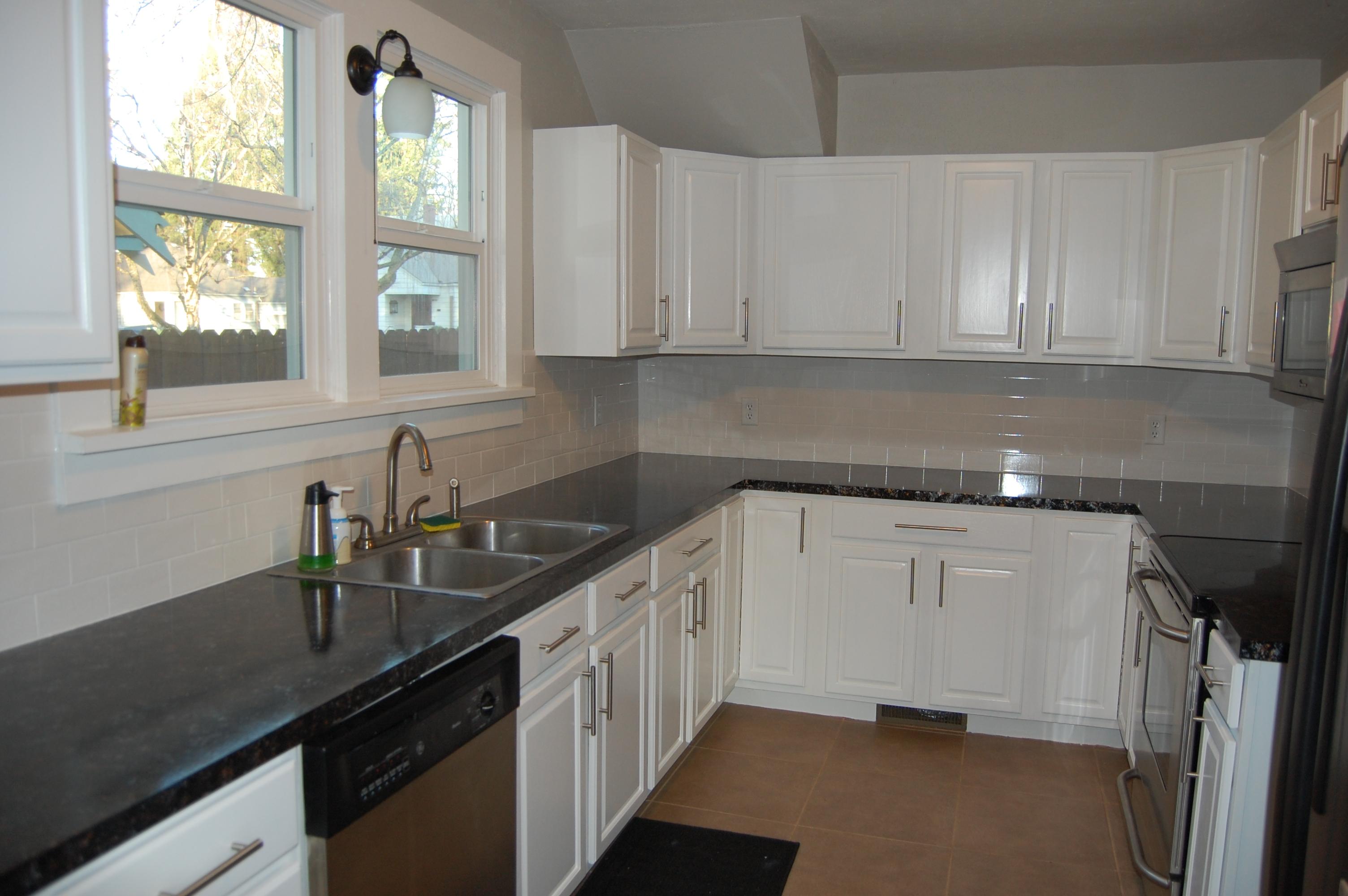 painting kitchen cabinets paint kitchen cabinets white My kitchen