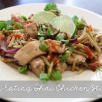 Clean Eating Thai Chicken Stir Fry