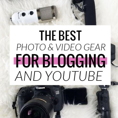 My Favorite Photo & Video Gear for Blogging and YouTube