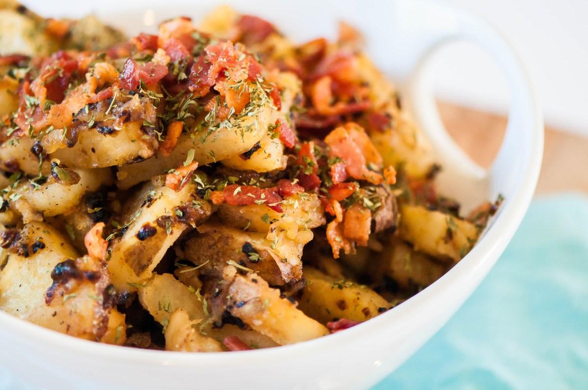 Caramelized Onion German Potato Salad