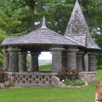The Heart Island Gazebo