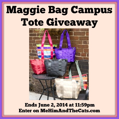 Maggie Bag Campus Tote Giveaway Button
