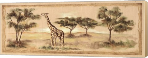 safari giraffe canvas transfer Beautiful Art from #FulcrumGallery    Review and Giveaway