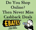 Never Miss an Online Deal Ebates