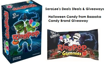 Ring Pop Halloween Halloween Candy Giveaway!