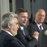 """Beim """"FORUM MITTELDEUTSCHLAND waren die drei Wirtschaftsminister der LäŠnder Sachsen, Sachsen-Anhalt und ThŸüringen zu Gast.  Foto: Volkmar Heinz / volkmar@heinz-report.de"""