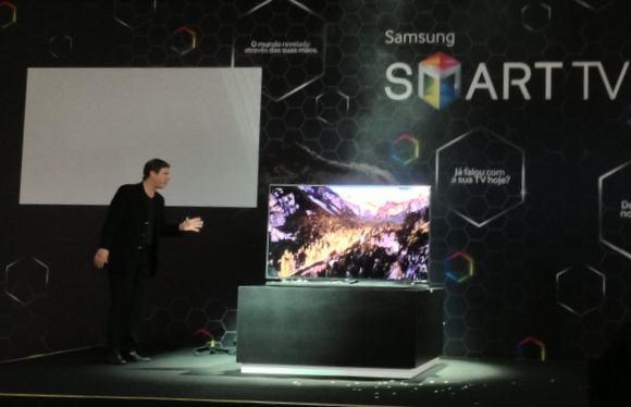 Lançamento das Smart TVs da Samsung