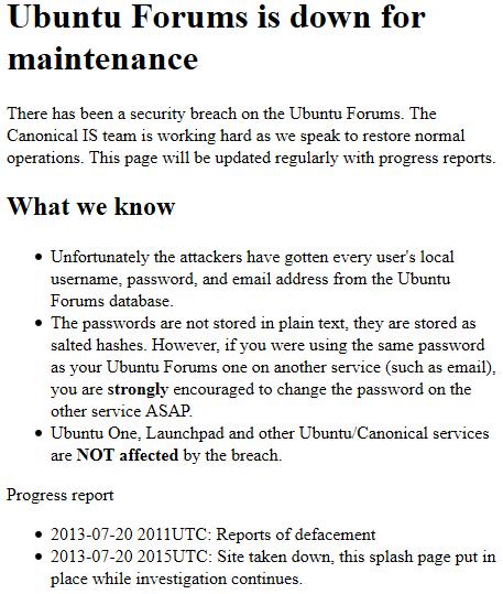 Invasão Ubuntu