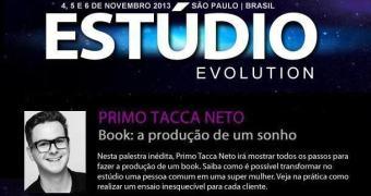 Primo Tacca vai estar no Estúdio Evolution