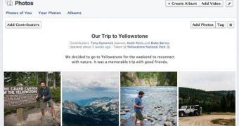 Facebook passa a permitir que usuários criem álbuns compartilhados