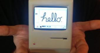 Este simpático Mini Macintosh Classic funciona de verdade
