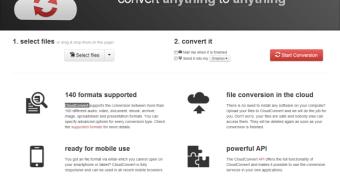Converta 140 tipos de arquivos com o CloudConvert