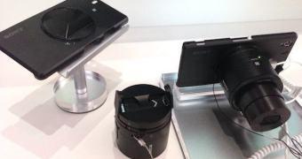 Primeiras impressões do smartphone Xperia Z1 e das câmeras Cyber-shot QX100 e QX10