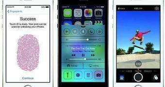 Imagens oficiais da câmera do iPhone 5s
