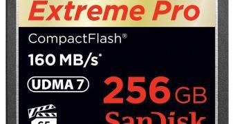 Lançamentos SanDisk – cartão com 256 GB e tecnologia CFast 2.0