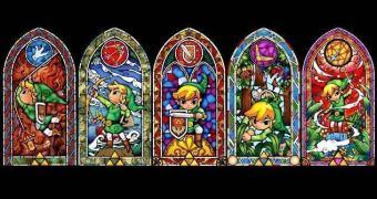 Tenha um (quase) vitral do Zelda na sua casa