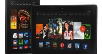 Amazon atualiza sua linha de tablets com os novos Kindle Fire HDX