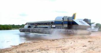 Hovercraft made in Brazil. Ao contrário dos da Melhor Coréia, não é Photoshop [atualizado]