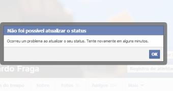 Falha no Facebook impede que usuários postem, curtam e comentem publicações