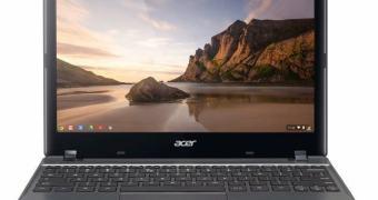 Chromebook da Acer chega ao Brasil custando R$ 1.300,00