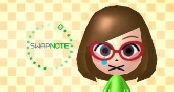 Política de proteger as criancinhas da Nintendo poda função online do Swapnote