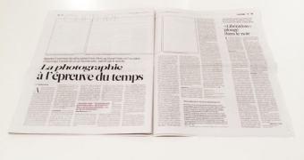 Jornal francês publica edição sem fotos