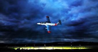 Como fotografar um jato voando a 500 km por hora?