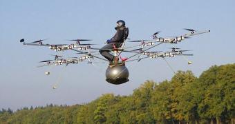 Alemães demonstram o Volocóptero 2.0