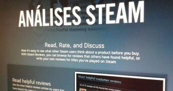 Steam agora conta com sistema de reviews