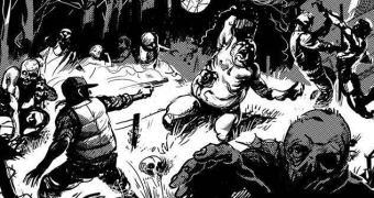 Um jogo do The Walking Dead onde controlamos os zumbis
