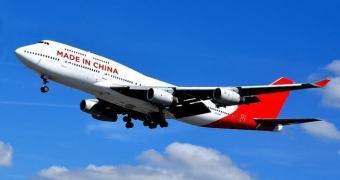 China pode passar a fabricar versões piratas de um Boeing 747