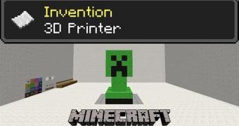Jogador com muito tempo livre cria uma impressora 3D… dentro de Minecraft
