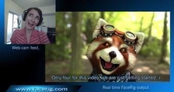 Anime (literalmente) seus chats em vídeo com o FaceRig