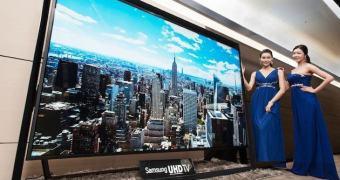 Lembra a Samsung de 105 polegadas? Obsoleta, jogue fora. Saiu a de 110 polegadas