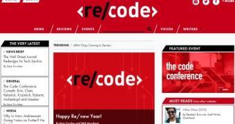 Conheça o re/code, site de tecnologia nascido das cinzas do AllThingsD